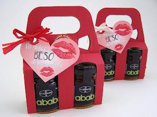 un beso dulce de mermelada el ababol para regalar en San Valentín