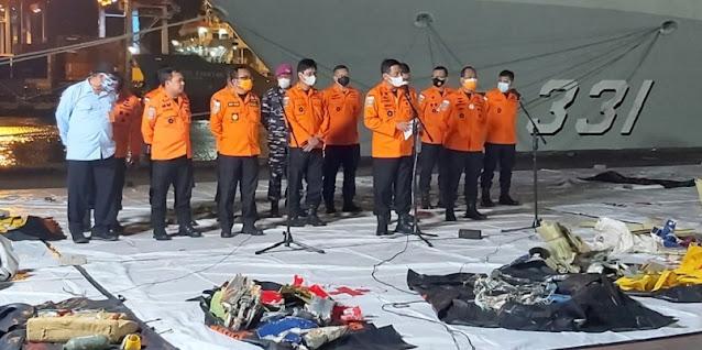 Basarnas Berhasil Temukan CVR Pesawat Sriwijaya Air SJ-182