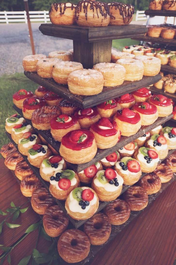Donut wedding cake cake magazine donut wedding cake junglespirit Image collections