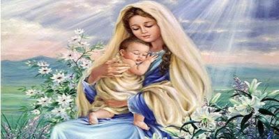 imagem da Virgem Maria Mãe de Deus