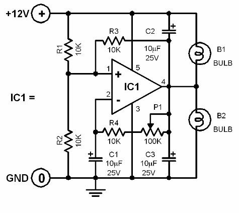 alternating-lamps-circuit-diagram