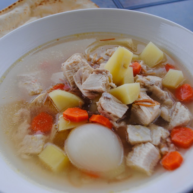 LEBANESE-STYLE CHICKEN SOUP