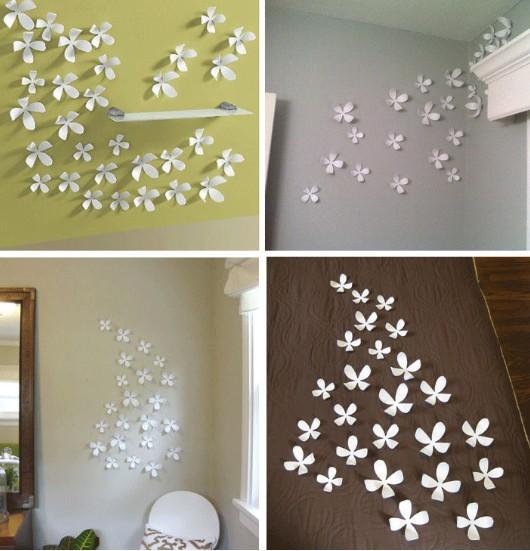 Decoraciones de papel para marcos o paredes - Decoracion de papel para paredes ...