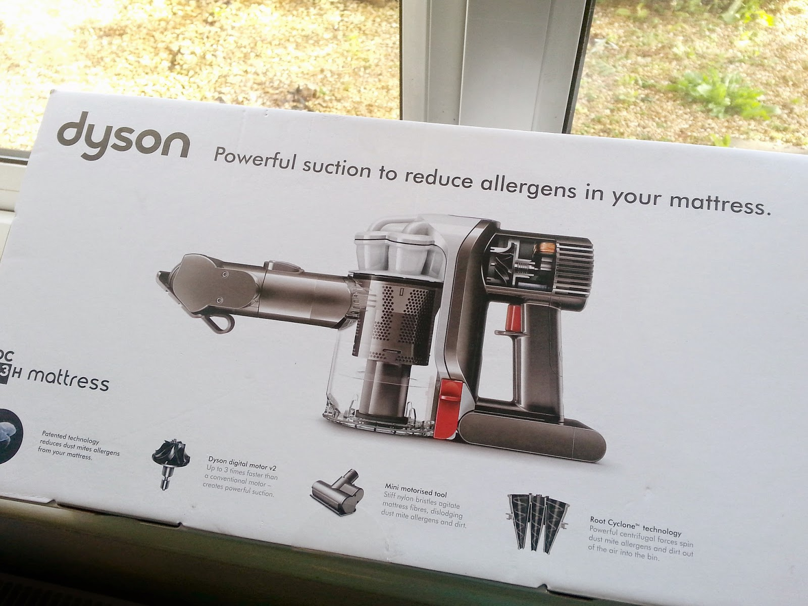 #NoHiddenDust, Dyson DC43H cordless handheld mattress vacuum cleaner, Indoor allergy week