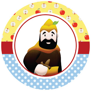 Snow White Baby: Free Printable Wrappers and Toppers for Cupcakes, Invitations and Candy Bar Labels.