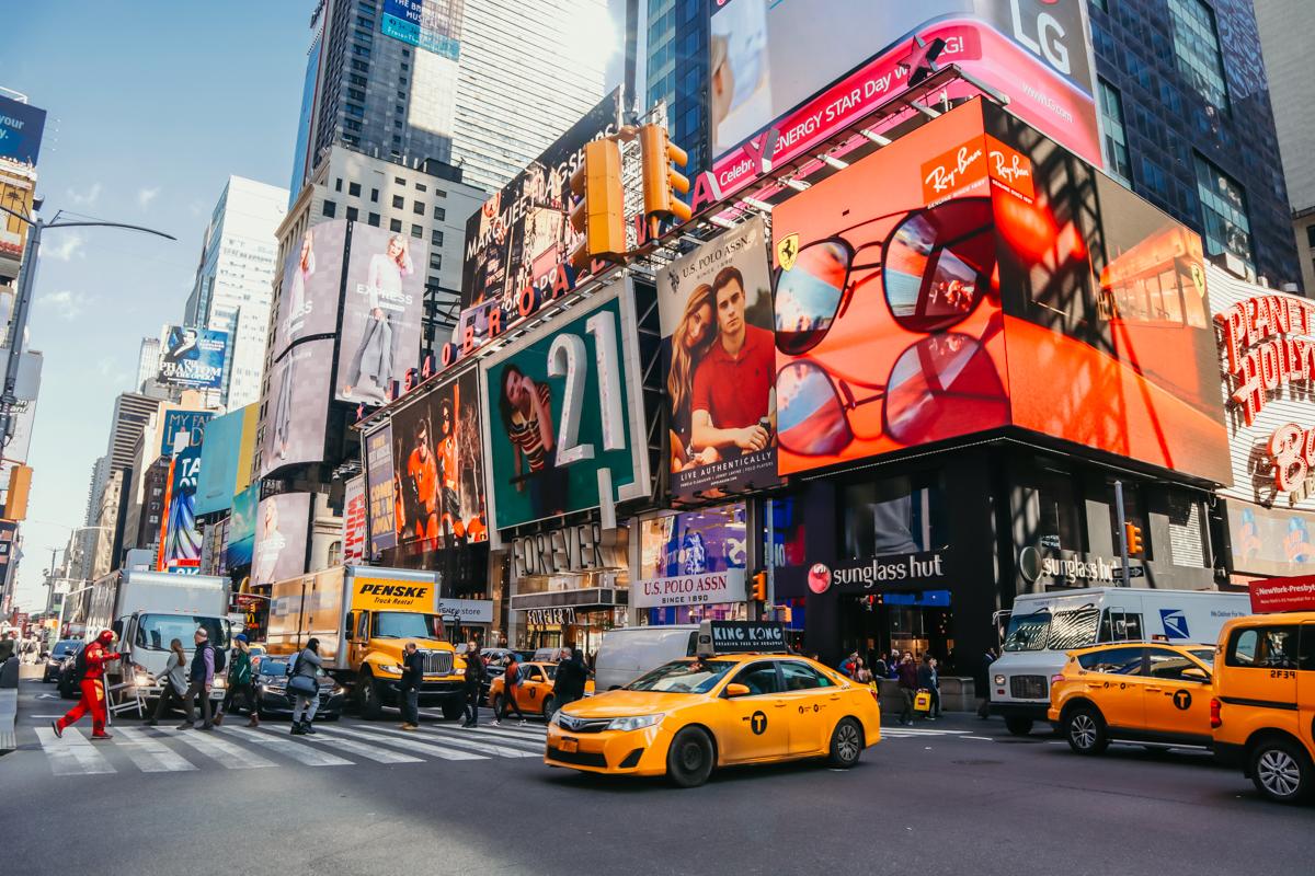 5 jours à New York - mon parcours - Oct 2018