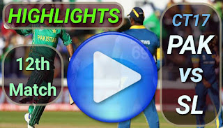 PAK vs SL 12th Match