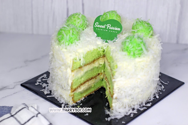 Cakes Order Delivery in Penang Sweet Passion Premium Cakes Ondeh Ondeh Delight Blogger Influencer Penang www.barryboi.com