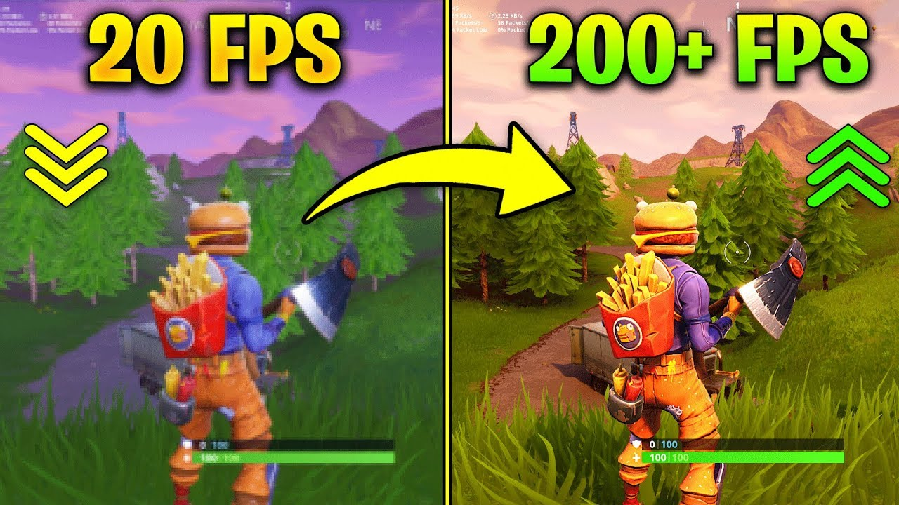 Fortnite Increase Fps And Fix Lag and Stutter Fps Boost all guides
