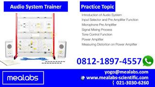 alat peraga teknik elektro sistem audio