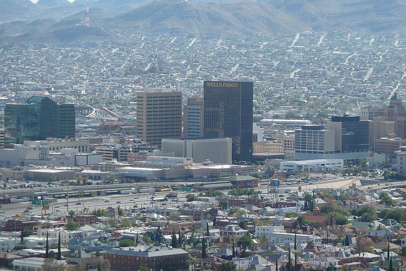Distant Cousin El Paso From Scenic Drive
