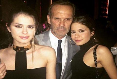 Ο φανατικός Κωστόπουλος στο ΣΕΦ με την κόρη του για να δει τον Ολυμπιακό! Δείτε πού το «έκαψε» μετά τη νίκη!