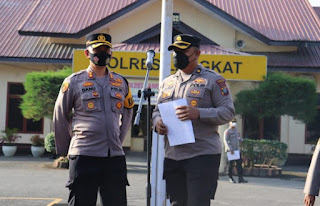 Kapolres Langkat Pimpin Pengamanan Persidangan Okor Ginting