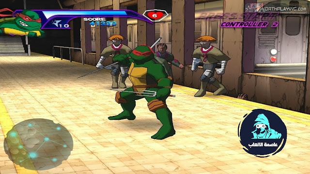 تحميل لعبه سلاحف النينجا tmnt 2003 game كامله