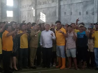 Tetty Paruntu Bersama Investor Tingkatkan Produksi Jagung Minsel