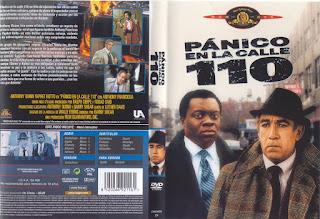 Carátula: Pánico en la calle 110 (1972) Across 110th Street