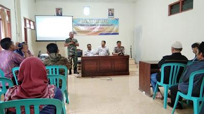 Bati Tuud Koramil 05 Candiroto Wakili Danramil Hadiri Musyawarah Desa
