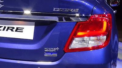 2017 Maruti Suzuki Dzire Led Taillight