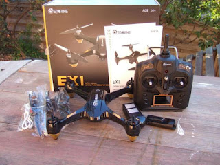 Spesifikasi Drone Eachine EX1 - OmahDrones
