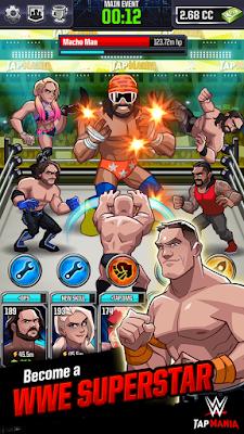 Download WWE Tap Mania Mod Apk Unlimited Money 1.0 Terbaru