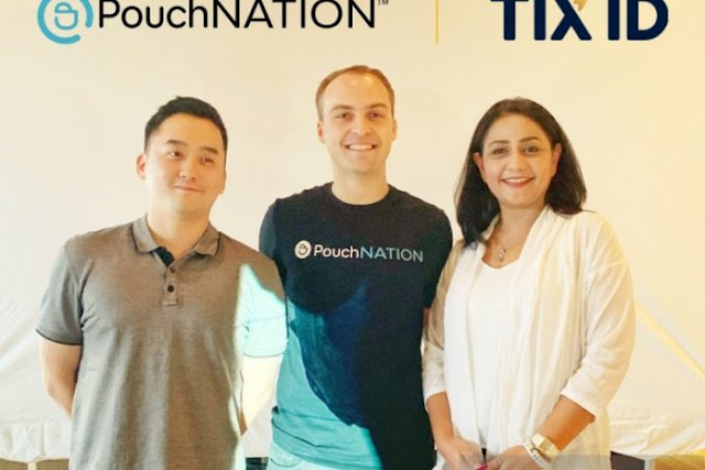 Startup Event PouchNATION Terima Pendanaan Seri B dari TIX ID
