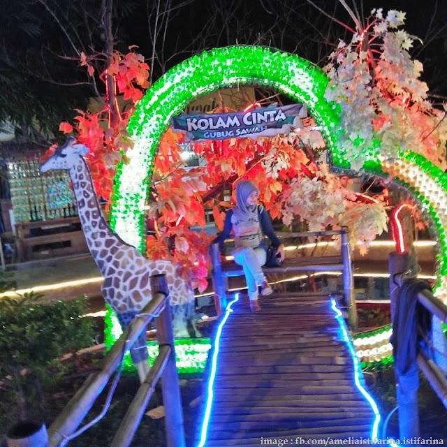 Wisata Gubug Sawah Tulungagung