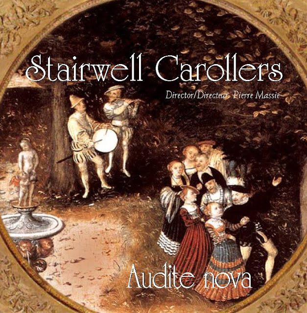 Audite Nova - The Stairwell Carollers Madrigals CD