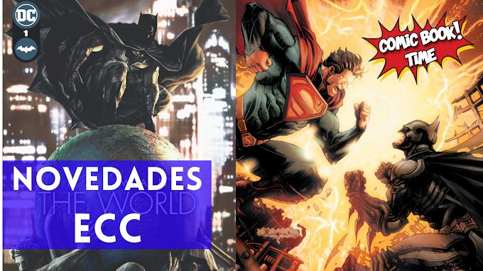 """ECC presenta su nuevo coleccionable """"Injustice"""" y revela los primeros detalles de """"Batman: The World"""""""
