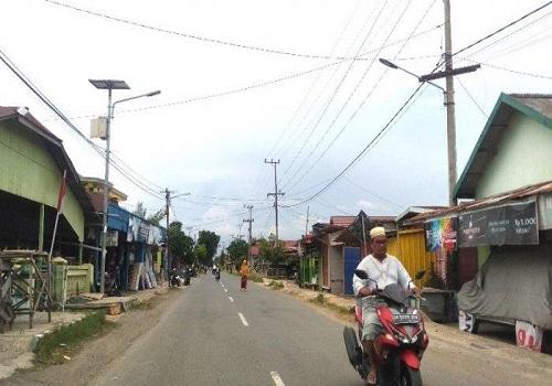 PJU Solar Sel Pagatan Tak Lagi Menyala