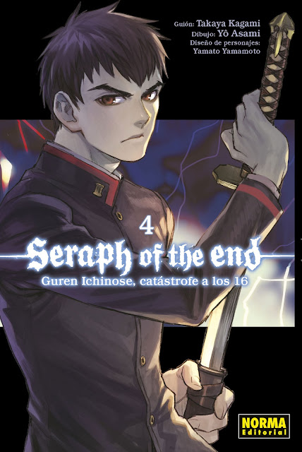 Seraph of the End: Guren Ichinose Catastrofe a los dieciséis vol.4