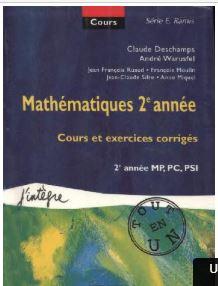Cours tout-en-un - Mathematiques 2e annee - Cours et exercices corriges