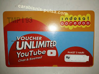 Voucher Unlimited Kuota Youtube Indosat