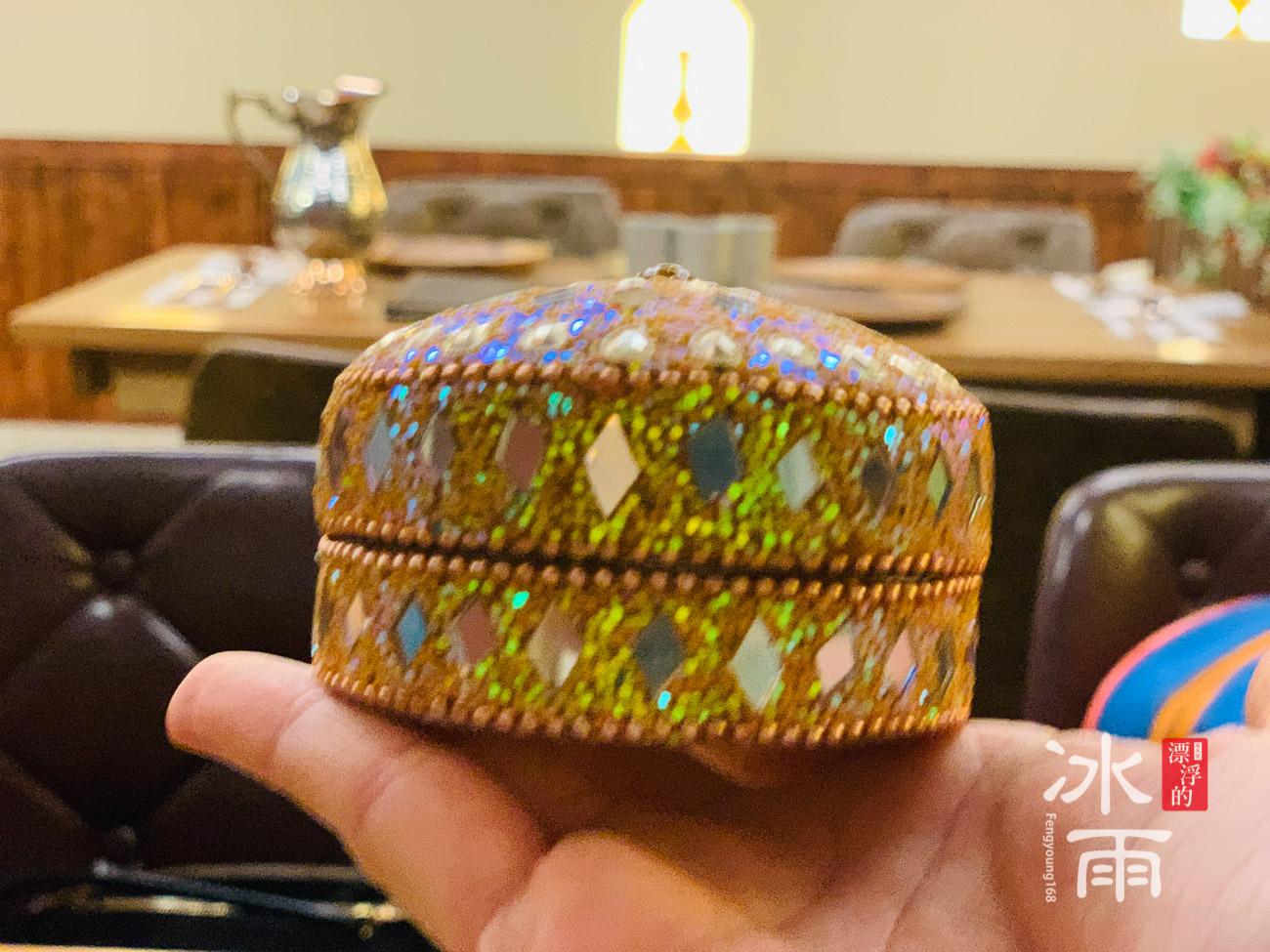印渡風情|印度料理餐廳|桌面飾盒