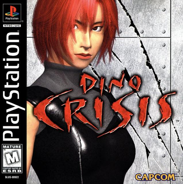 Dino Crisis - PSX - Portada