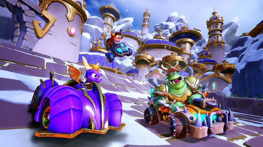 crash team racing nitro-fueled grand prix event unlockable character gnasty gnorc