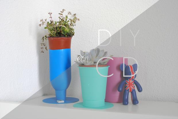DIY Macetero o jarron, reciclando en 3 pasos