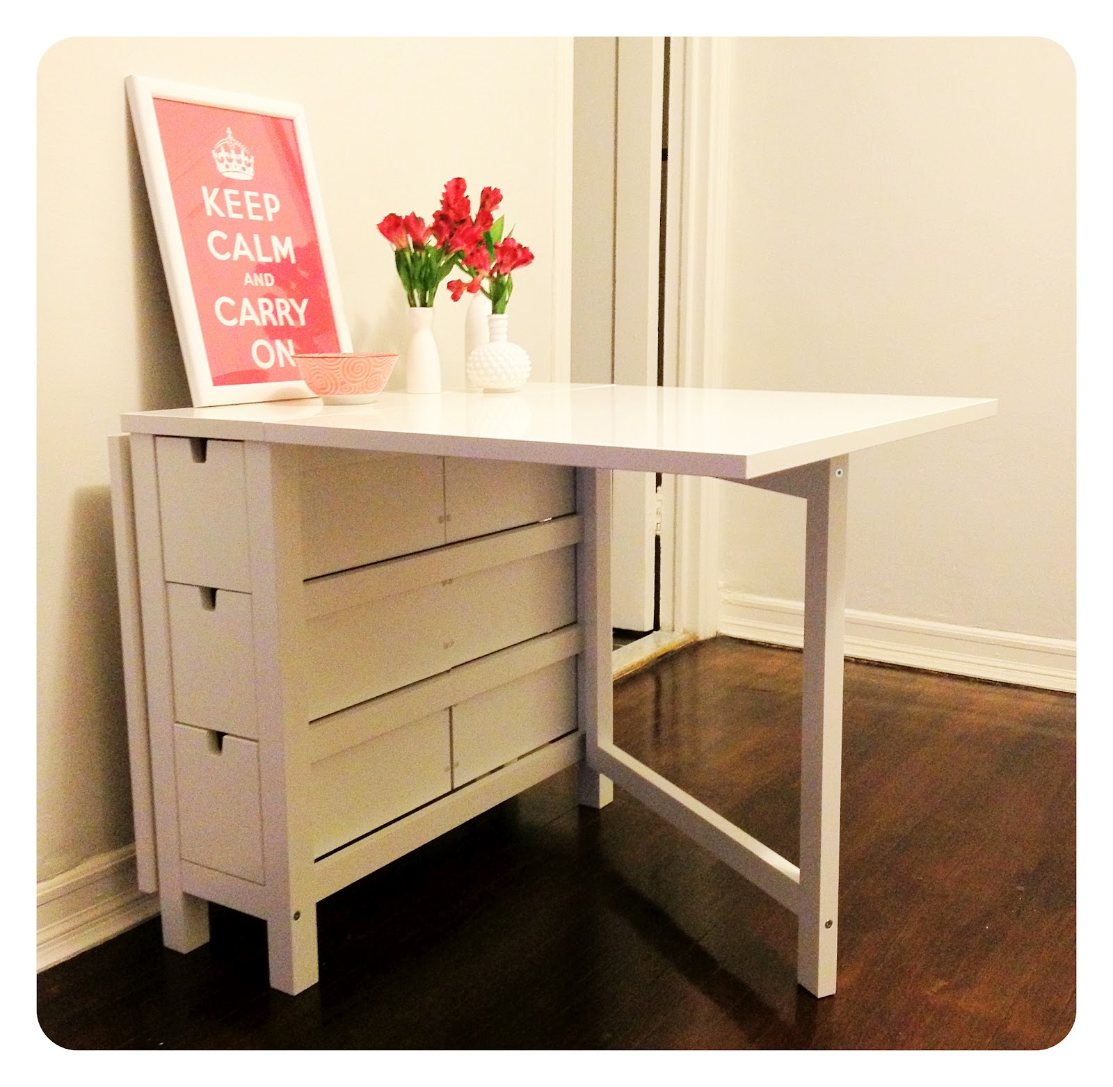 Ikea Norden Table Hack: Dressing Up Ikea Table