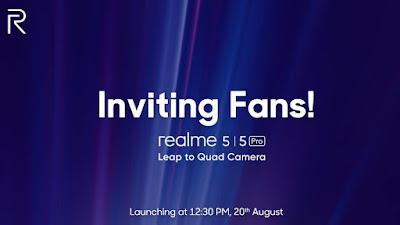 Realme 5 Series Quad Camera
