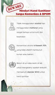 Hand Sanitizer BPOM