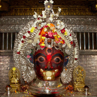 Image of Akash Bhairav in Nepal