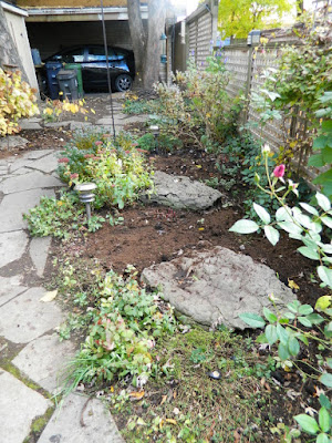 Toronto Leslieville Backyard Garden Fall Clean up after by Paul Jung Gardening Services