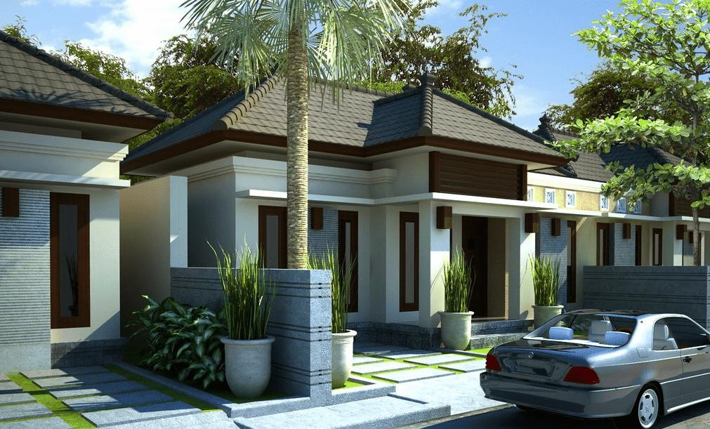 15 desain dan denah rumah minimalis type 90 satu lantai