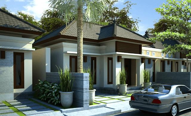 Desain Rumah Minimalis Type 90 Satu Lantai
