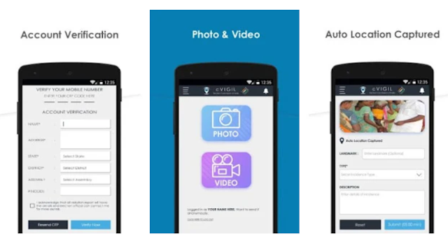 cVIGIL - Report Election Violation through mobile app