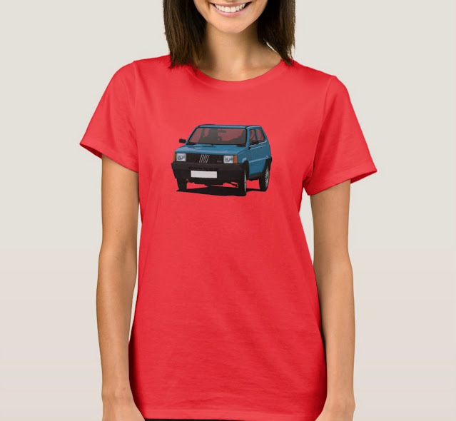 Blue Panda 45 t-shirt