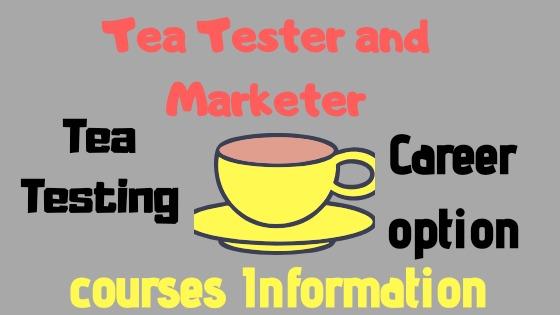 Growing Tea Industry: Tea Tasting Courses, Marketing and Jobs