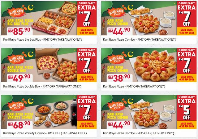Boleh Tahan Weh Rasa Pizza Kari Raya Terbaru Dari Pizza Hut