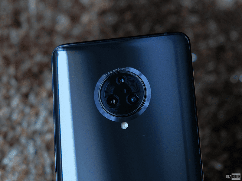 Triple cameras with 64MP sensors