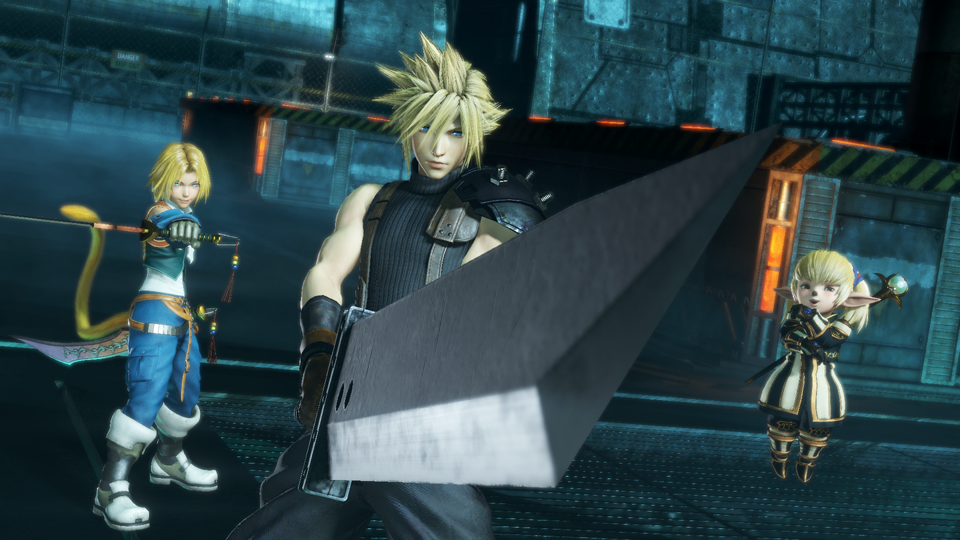 Consigue la beta cerrada de Dissidia Final Fantasy NT con GAME