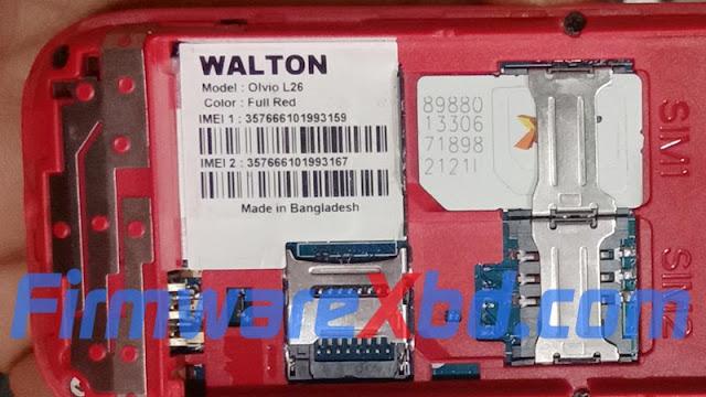 Walton L26 Flash File Download 6531E Without Password Free